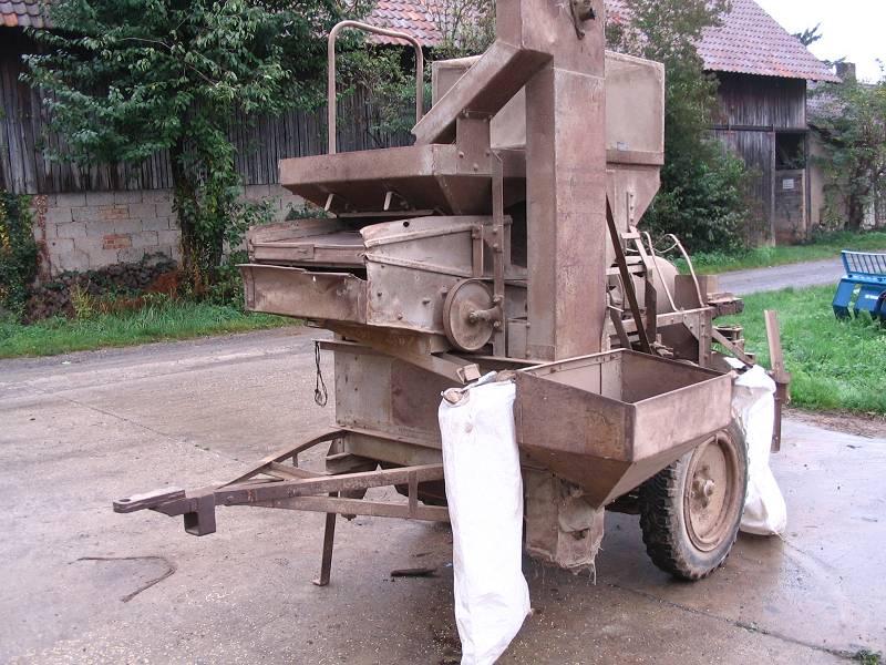 goldsaat - Rabemaschine (vermutlich vor 1939)