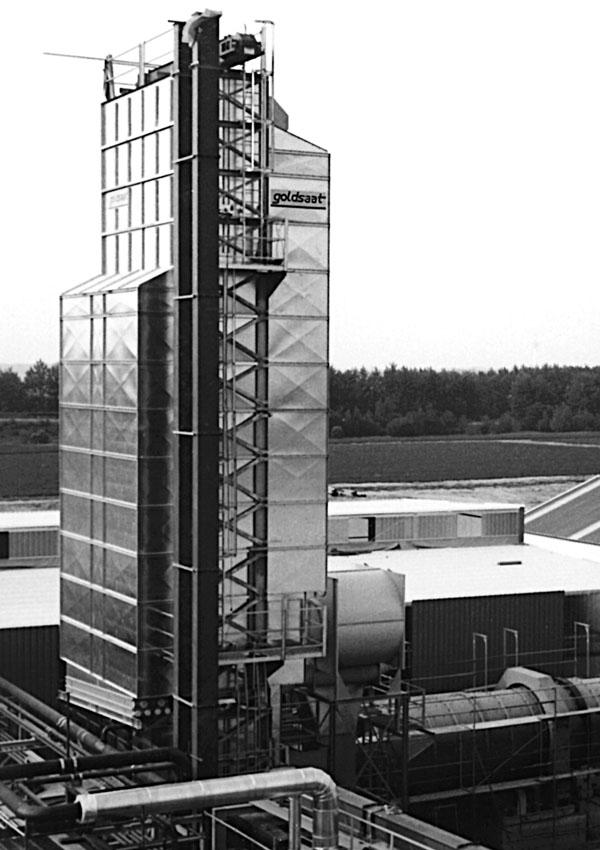 goldsaat Trocknungstechnik - Cargill Salzgitter - Rapstrocknungsanlage 48 th