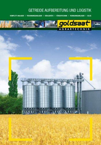 Goldsaat allgemeine Broschüre