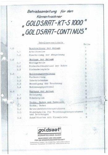 Anleitung - KTS 1000