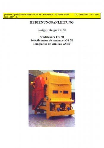 Saatgutreiniger GS 50