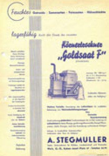Körnertrockner Goldsaat-F 750 - 1000 kg/h