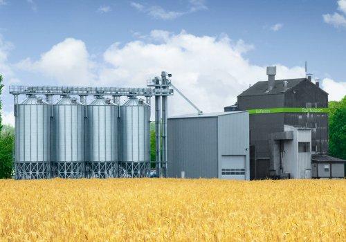 Siloanlagen für die Ernte und Großanlagen