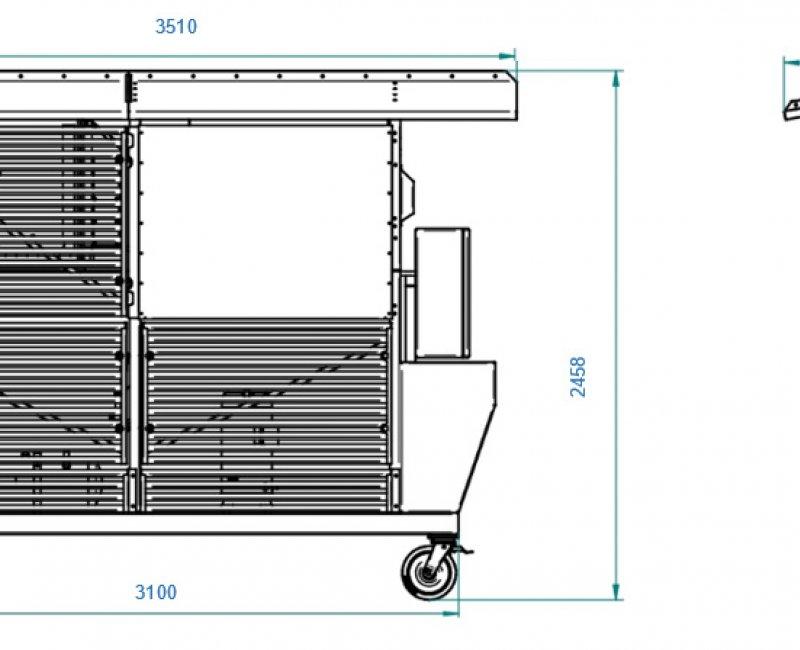 Kühlgerät GK 160/448-DWM